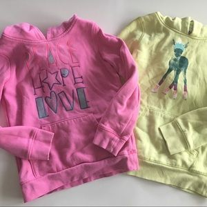 Circo Girls 2 Sweatshirts Bundle